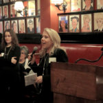 Rita Marie Pelosi of JPMorgan Chase speaking at the February 2016 Networking Event